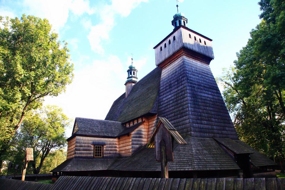 Haczów - Kościół Wniebowzięcia NMP i św. Michała Archanioła