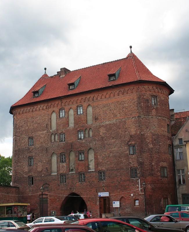 Lidzbark Warmiński - Wysoka Brama