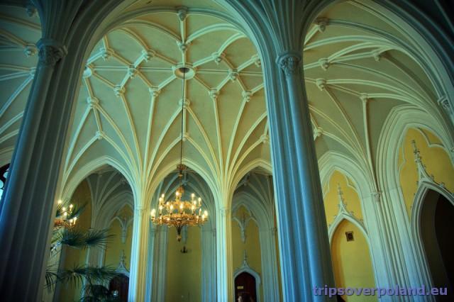 Puławy - Sala Gotycka