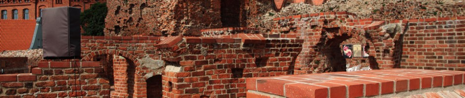Zamek krzyżacki w Toruniu – przykład konserwacji historycznej ruiny