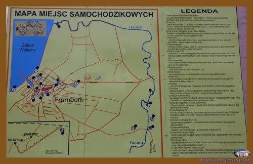 Mapa miejsc samochodzikowych