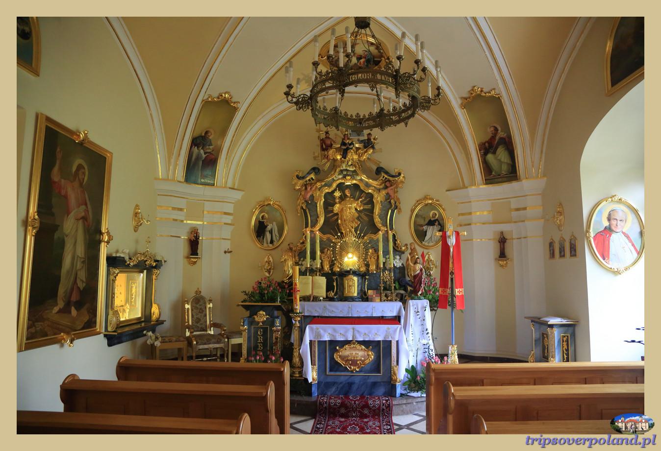 Kamień Śląski- kaplica pałacowa