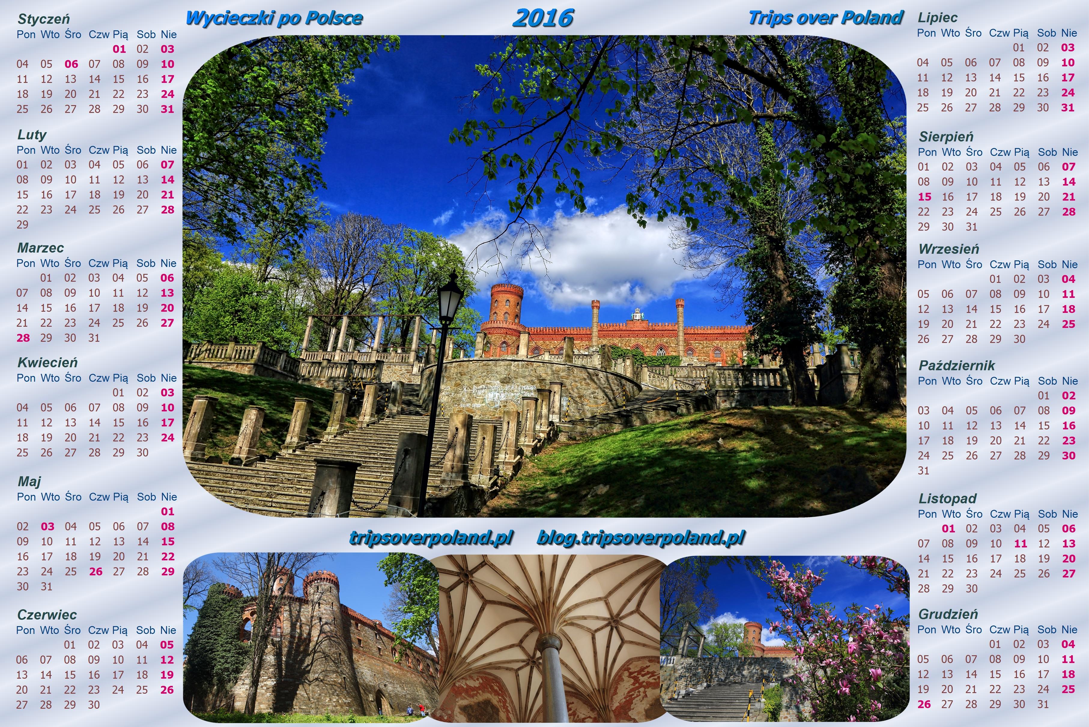 Kalendarz ze zdjęciami z Kamieńca Ząbkowickiego