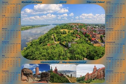 Kalendarz ze zdjęciami z Grudziądza
