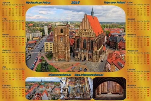 Kalendarz ze zdjęciami z Nysy