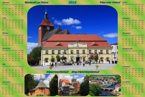 Kalendarz ze zdjęciami z Darłowa