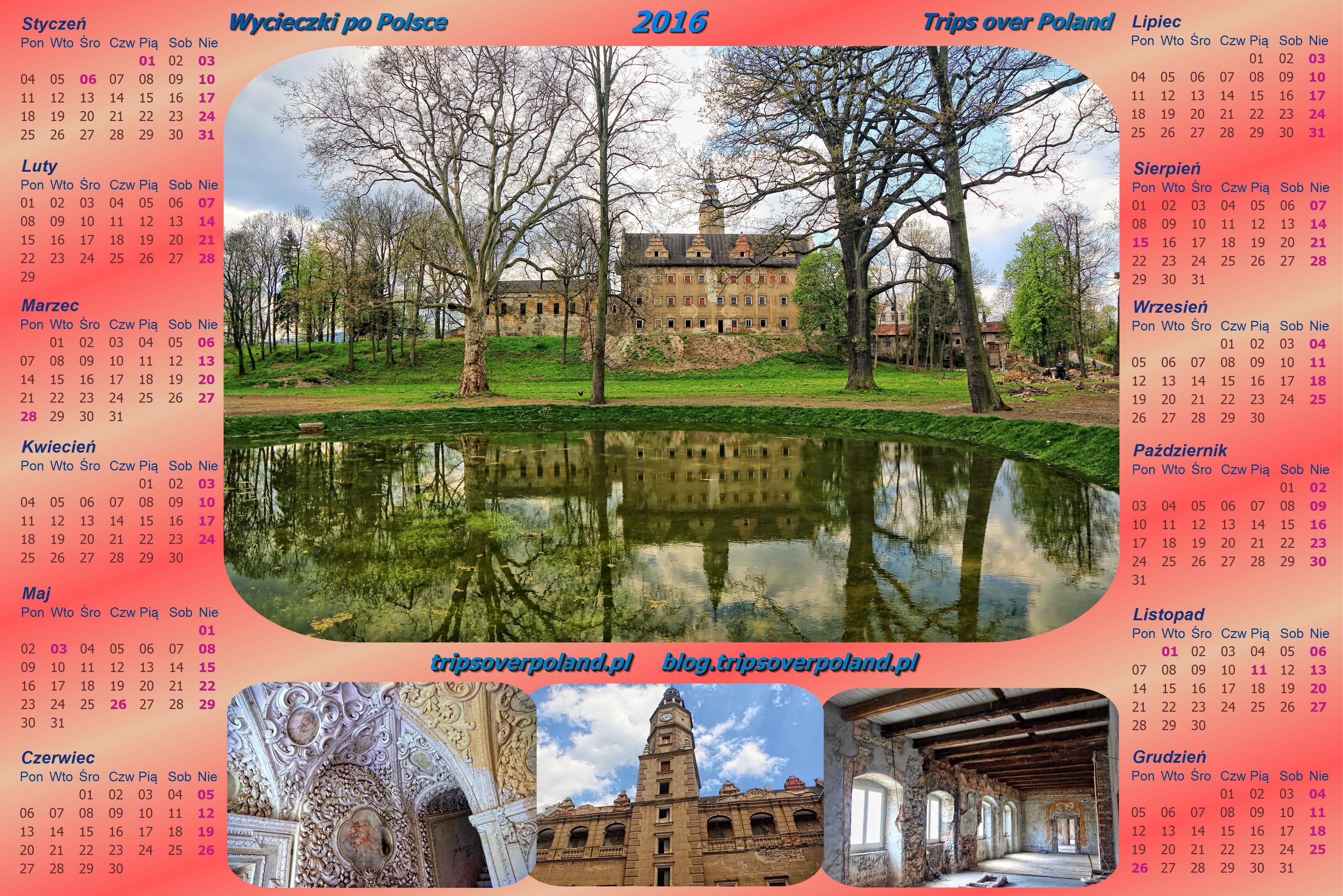 kalendarz ze zdjęciami z Gorzanowa