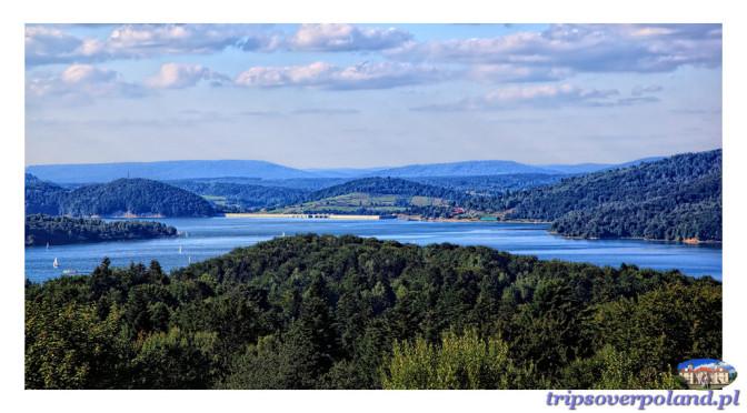 Krajobrazowe perły Polski – Jezioro Solińskie i okolice