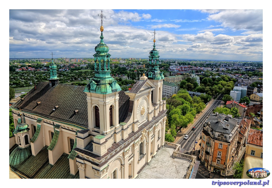 Widoki z Wieży Trynitarskiej