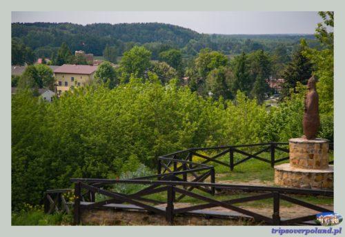 ruiny zamku Kazimierza Wielkiego